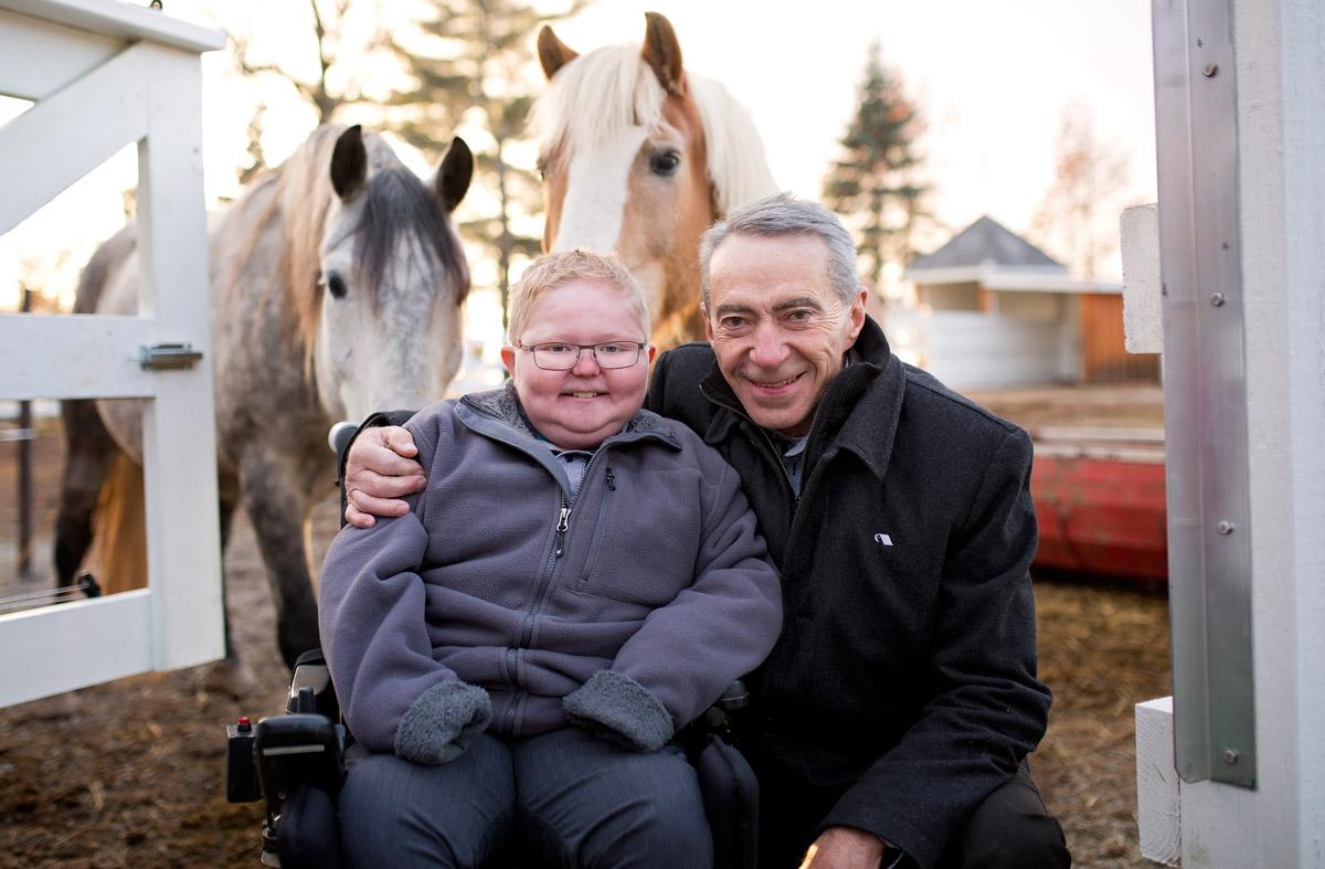 Campagne Le Coeur à la victoire - handicapé