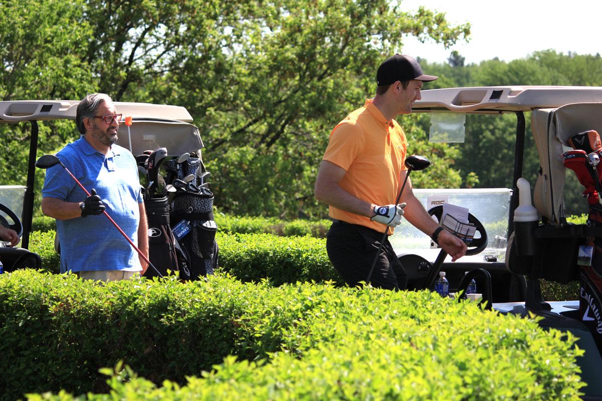 Marc Hervieux au Classique de golf Normand Léveillé