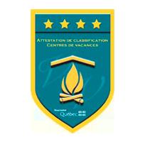 Logo Attestation de classification 4 étoiles - Tourisme Québec